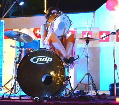Drummer Hiding