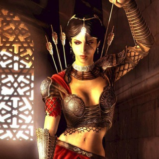 Farah from Prince of Persia