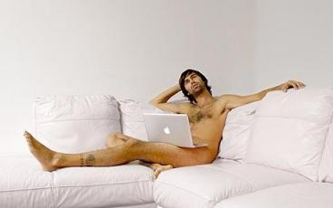 Naked blogging