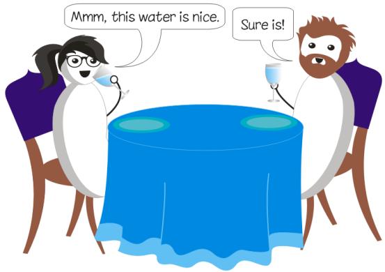 Nice water