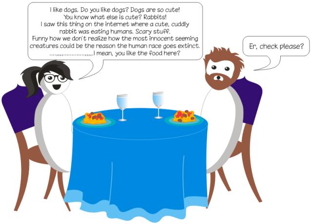 Dinner Awkwardness